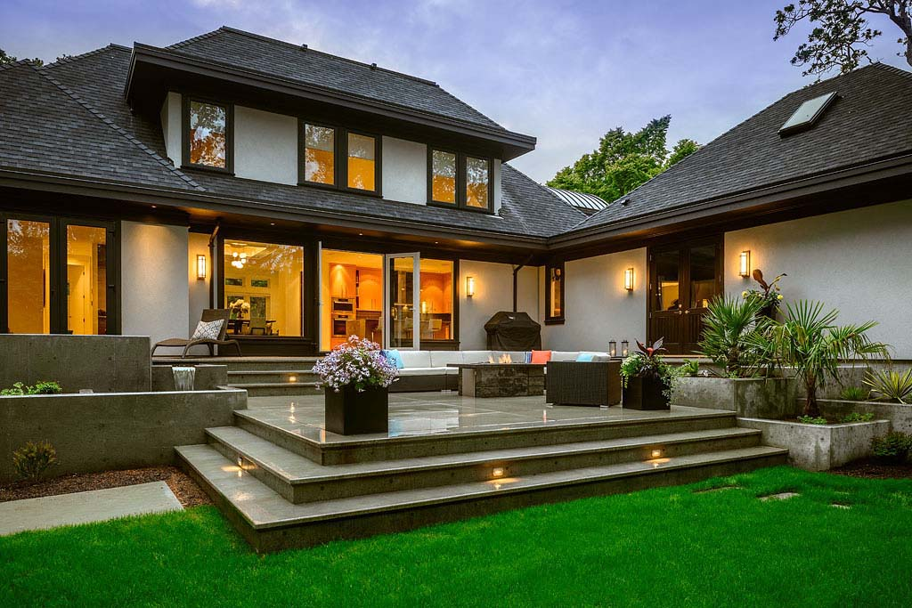 Beautifully Crafted Contemporary Custom Home In British