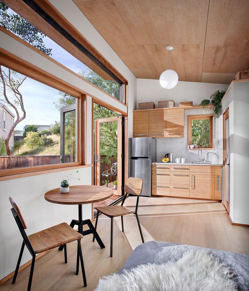 High-Quality Sustainable Prefab Backyard Tiny House ...