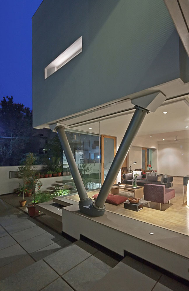 Modernist House In India A Fusion Of Traditional And
