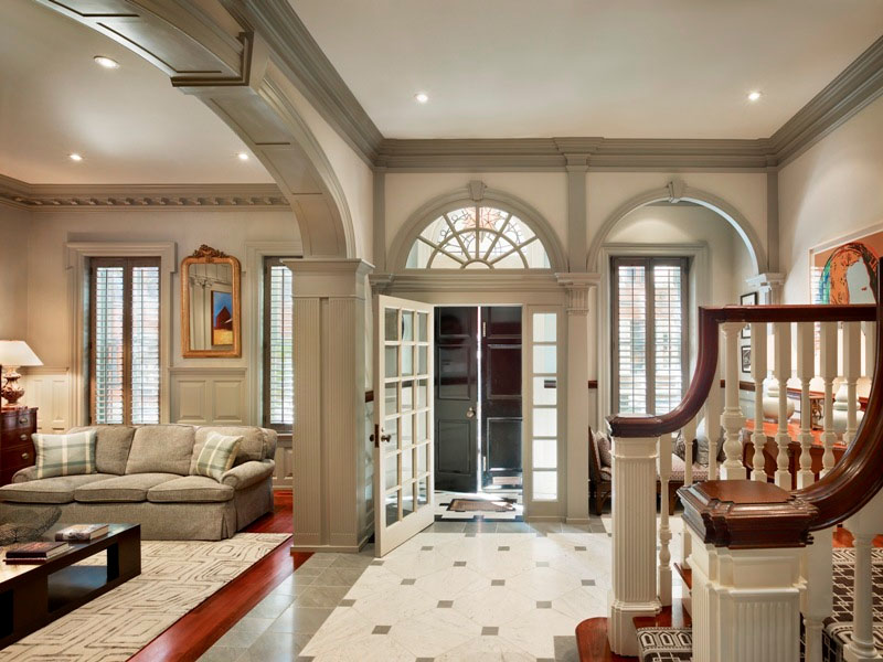 Town Home With Beautiful Architectural Elements ... on Beautiful Home Decor  id=24805
