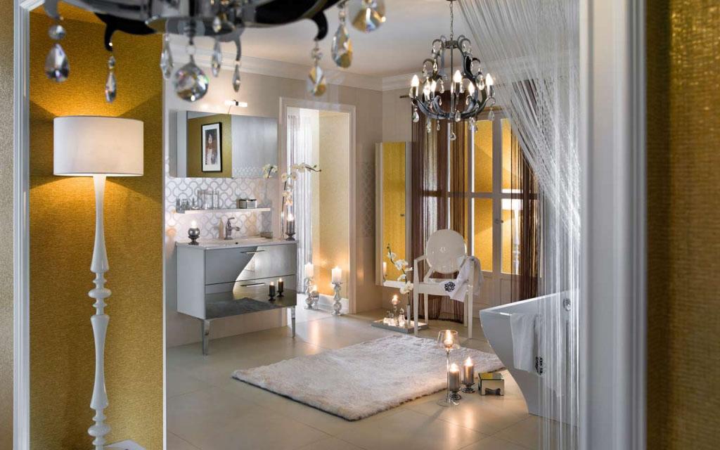 Unique Glossy Modern Bathroom Design IDesignArch