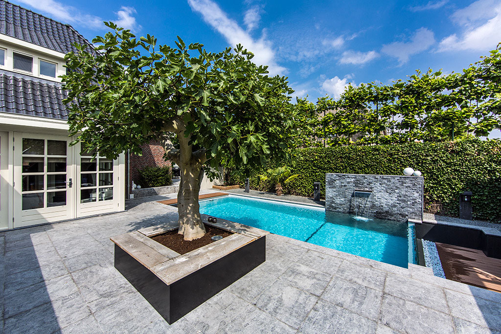 Dream Backyard Garden With Amazing Glass Swimming Pool ... on Dream Backyard With Pool id=51355
