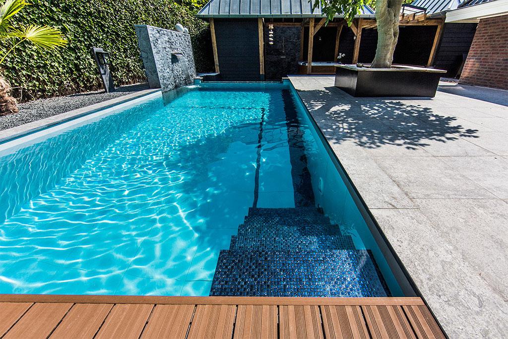 Dream Backyard Garden With Amazing Glass Swimming Pool ... on Dream Backyard With Pool id=13874