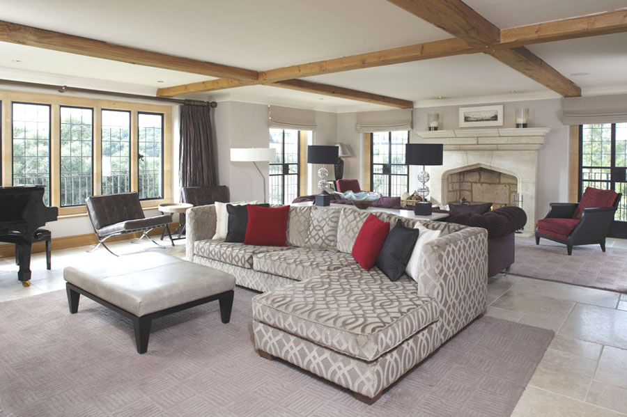Contemporary English Country Home In Gloucestershire