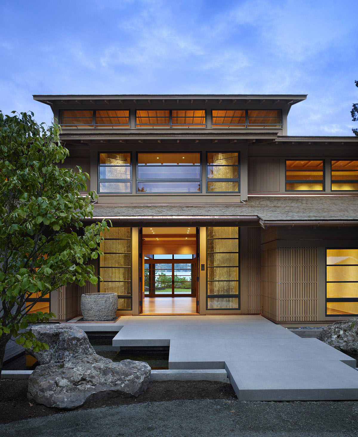 Contemporary House In Seattle With Japanese Influence ... on Modern Style Houses  id=25465