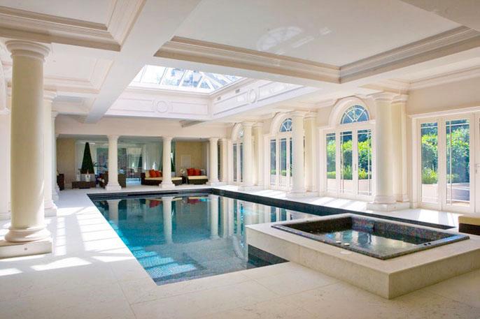 Indoor Swimming Pools With Classical Design IDesignArch