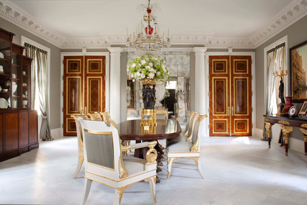 Palatial Federal Style Mansion In Houston IDesignArch Interior Design Architecture
