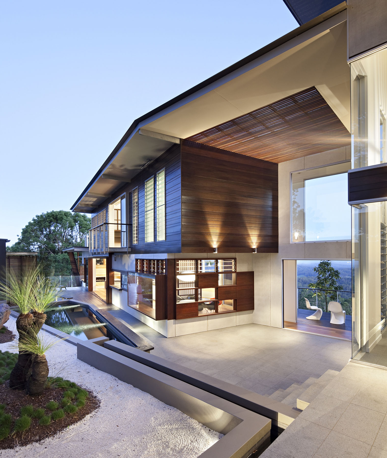 Luxury Modern Residence With Breathtaking Views Of Glass ... on Modern Glass House Design  id=13644