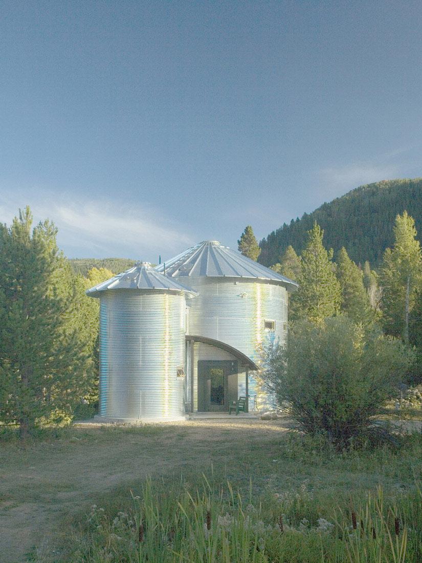 Build An Inexpensive Home Using Grain Silos IDesignArch Interior Design Architecture