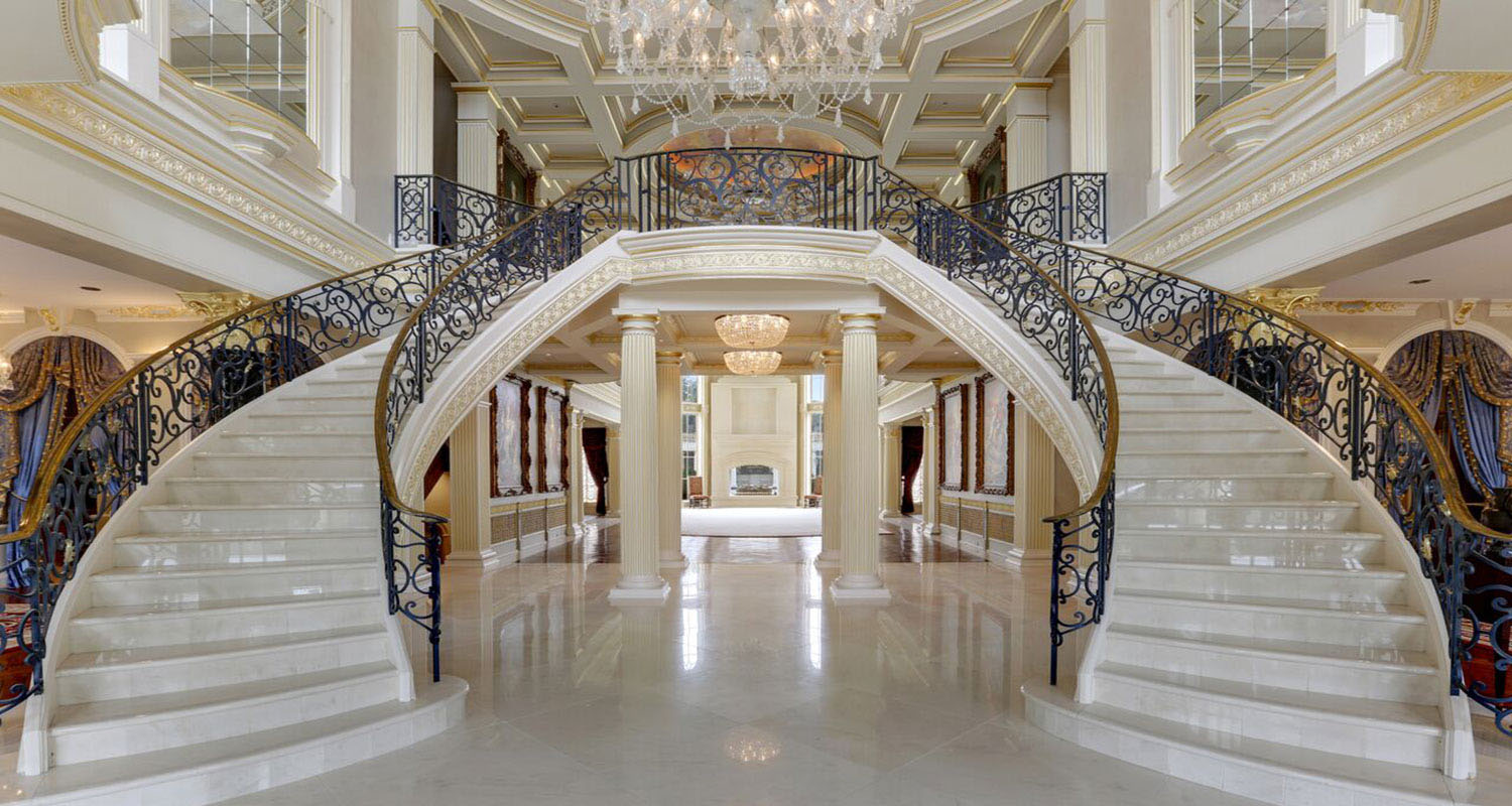 Guitar House A Mega Mansion In Alabama Inspired By European Castles IDesignArch Interior