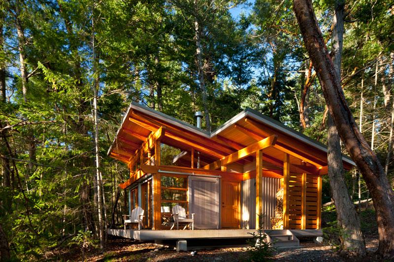 Red Cedar Cabin Paradise On The Gulf Islands Idesignarch