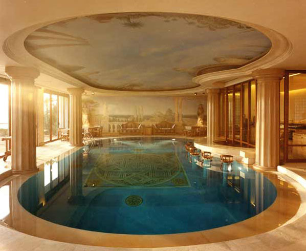 Indoor Swimming Pool Murals IDesignArch Interior