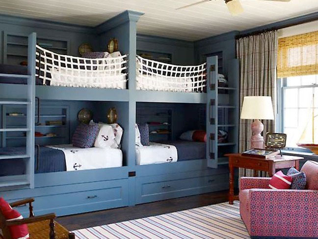 Inspiring Bunk Bed Room Ideas IDesignArch Interior Design Architecture Amp Interior
