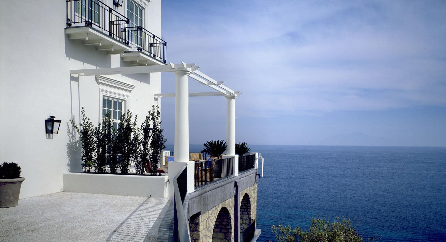 JK Place Capri Hotel Elegant Seaside Decor IDesignArch Interior Design Architecture