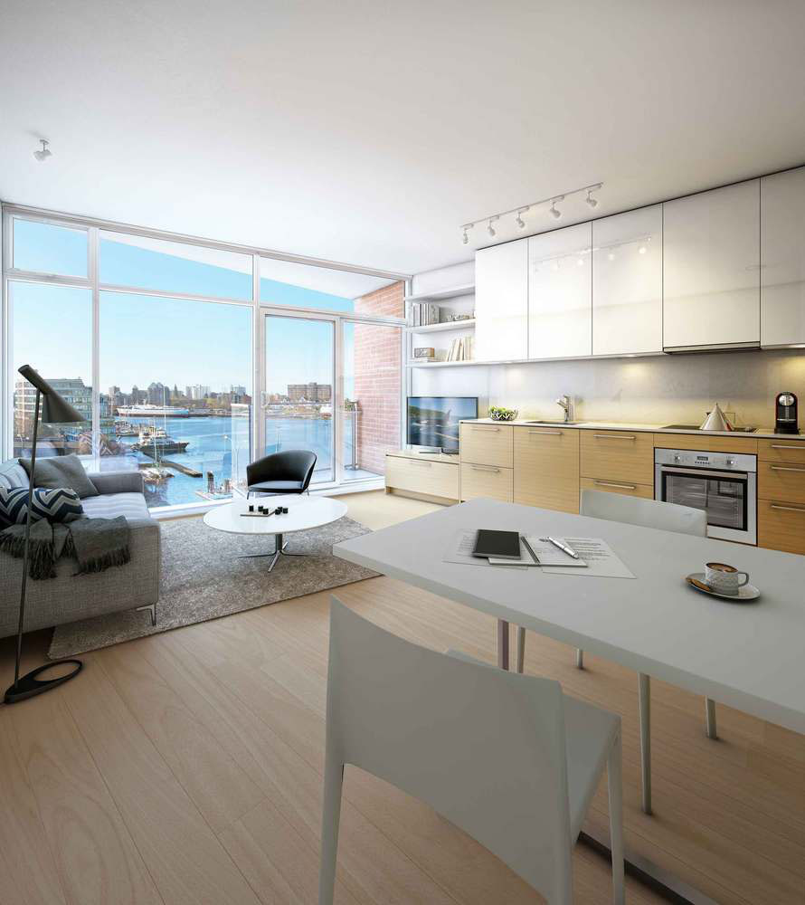 Janion Waterfront Tiny Micro Condos IDesignArch