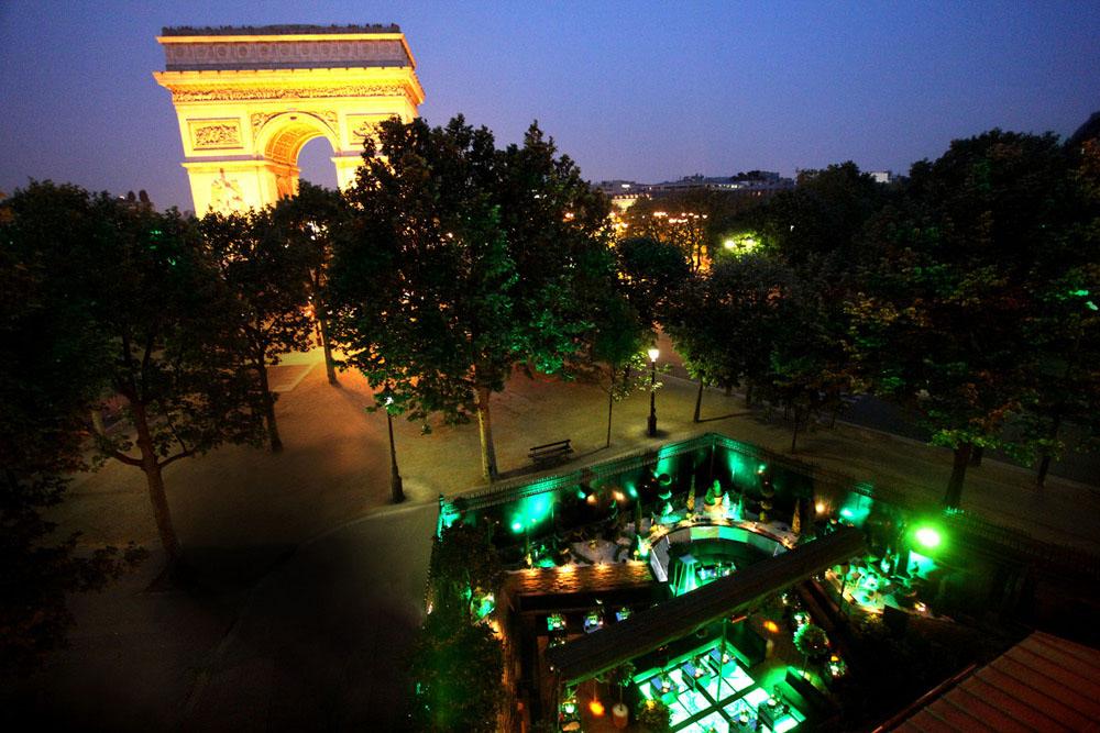 L Arc Paris Restaurant Bar Amp Club Idesignarch Interior