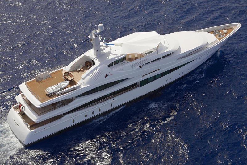 Superyacht Lady Christine Interiors IDesignArch