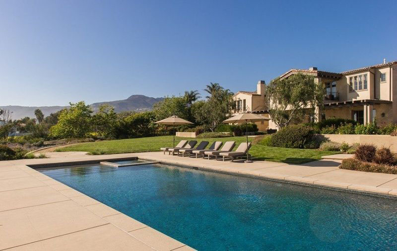 Lady Gagas Mediterranean Inspired Malibu Beachfront