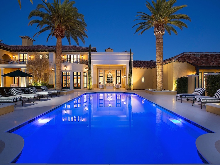 Luxury Las Vegas Manor Timeless Design IDesignArch