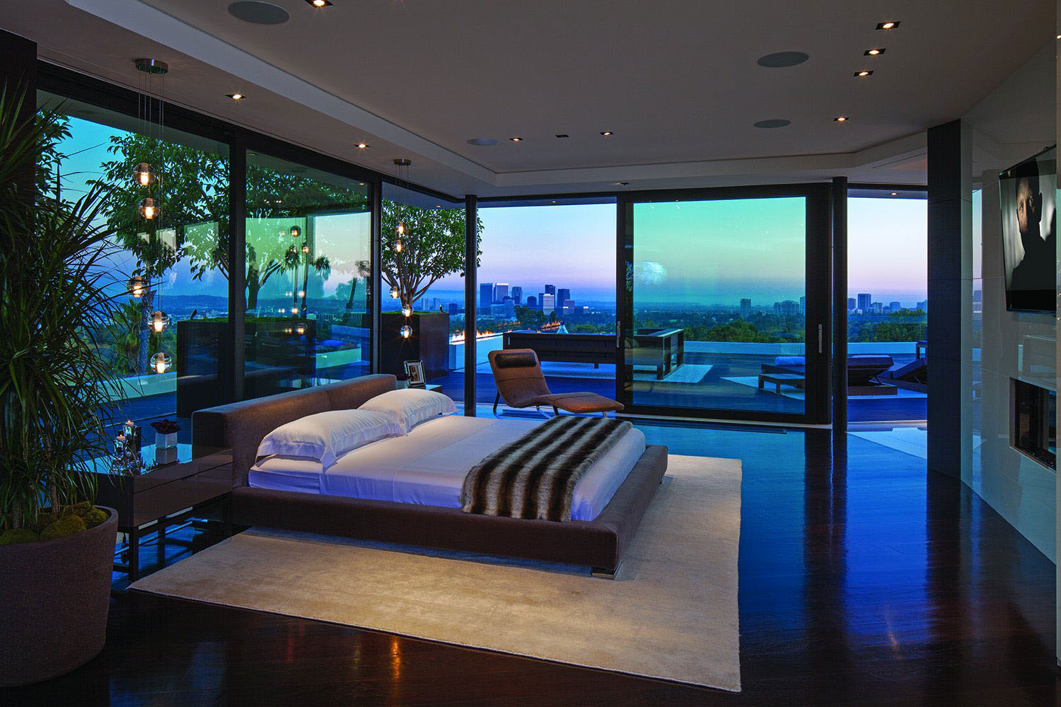 World Class Beverly Hills Contemporary Luxury Home With Dramatic Views IDesignArch Interior