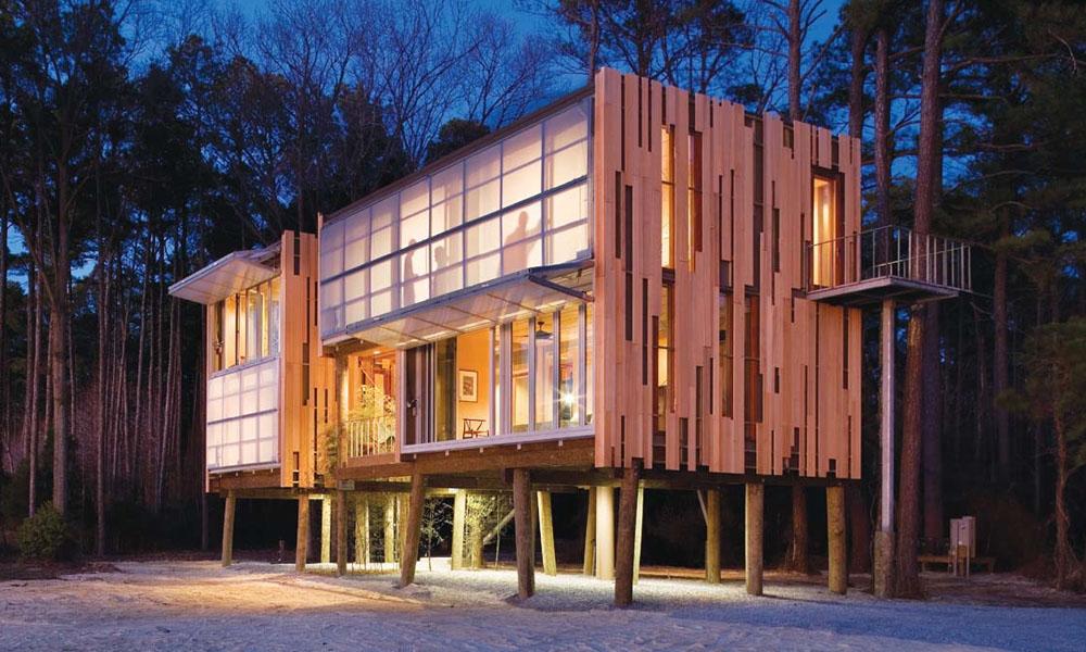 Prefab Loblolly House Redefines New Architecture IDesignArch Interior Design Architecture