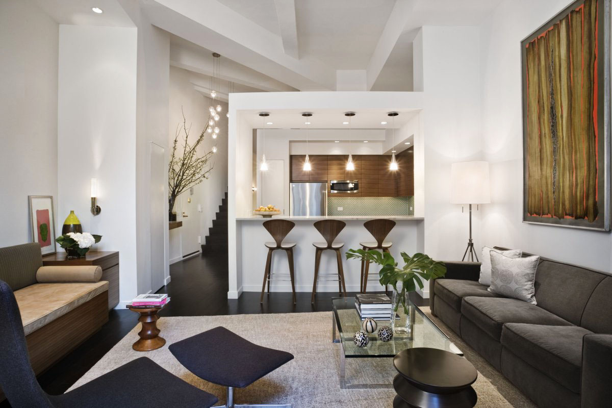 Loft Style Apartment Design In New York | iDesignArch ... on Apartment Decorating Styles  id=55369