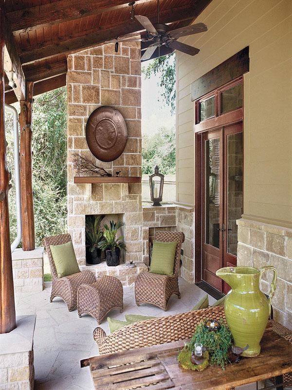 Gorgeous Texas Ranch Style Estate Idesignarch Interior