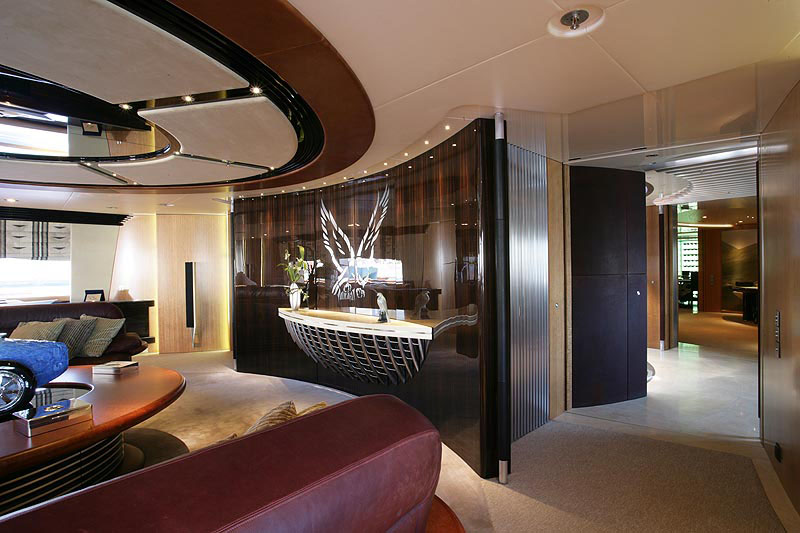 Luxury Sailing Yacht Maltese Falcon IDesignArch Interior Design Architecture Amp Interior