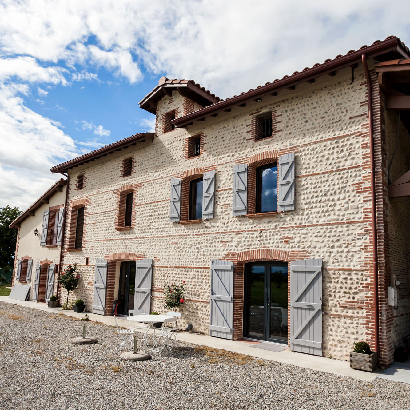 Contemporary Refurbished Farmhouse In A Small French
