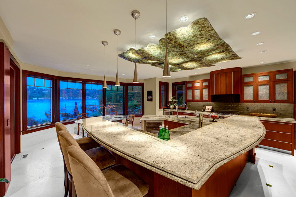 Mercer Island Luxury Waterfront Estate IDesignArch