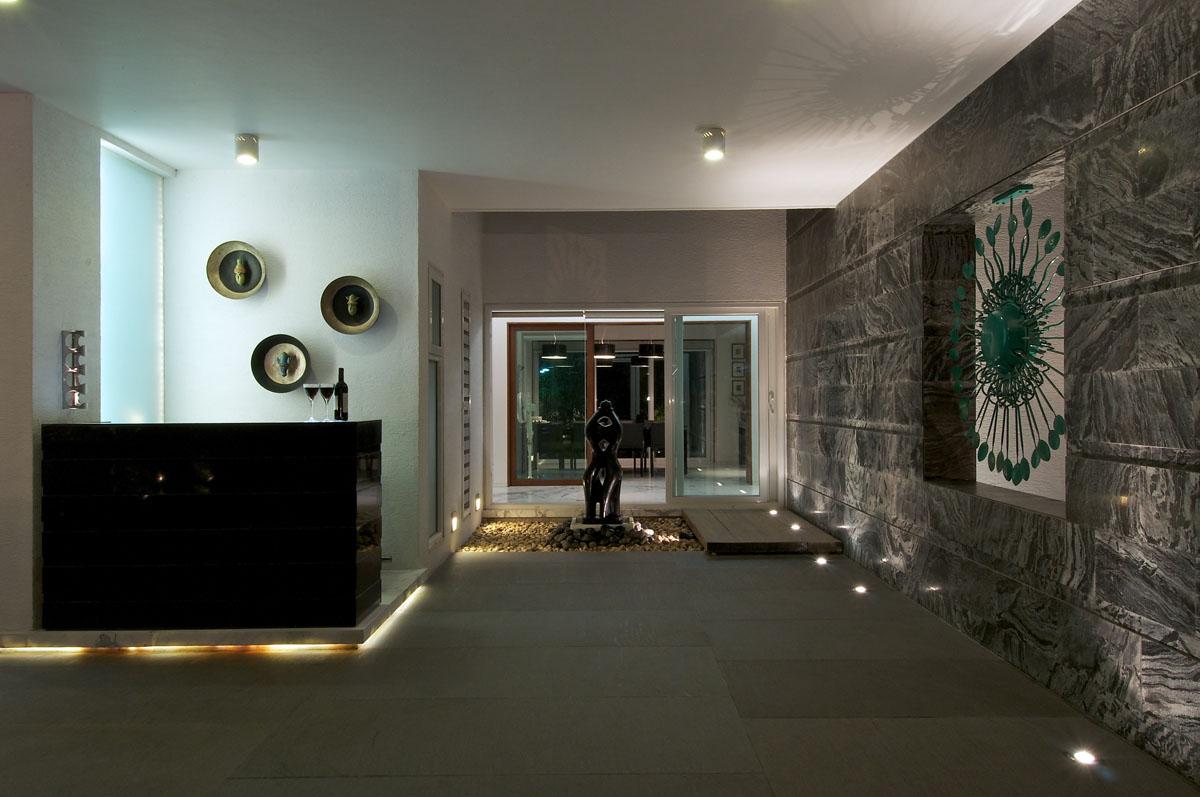 Minimalist Bungalow In India IDesignArch Interior Design Architecture Amp Interior Decorating