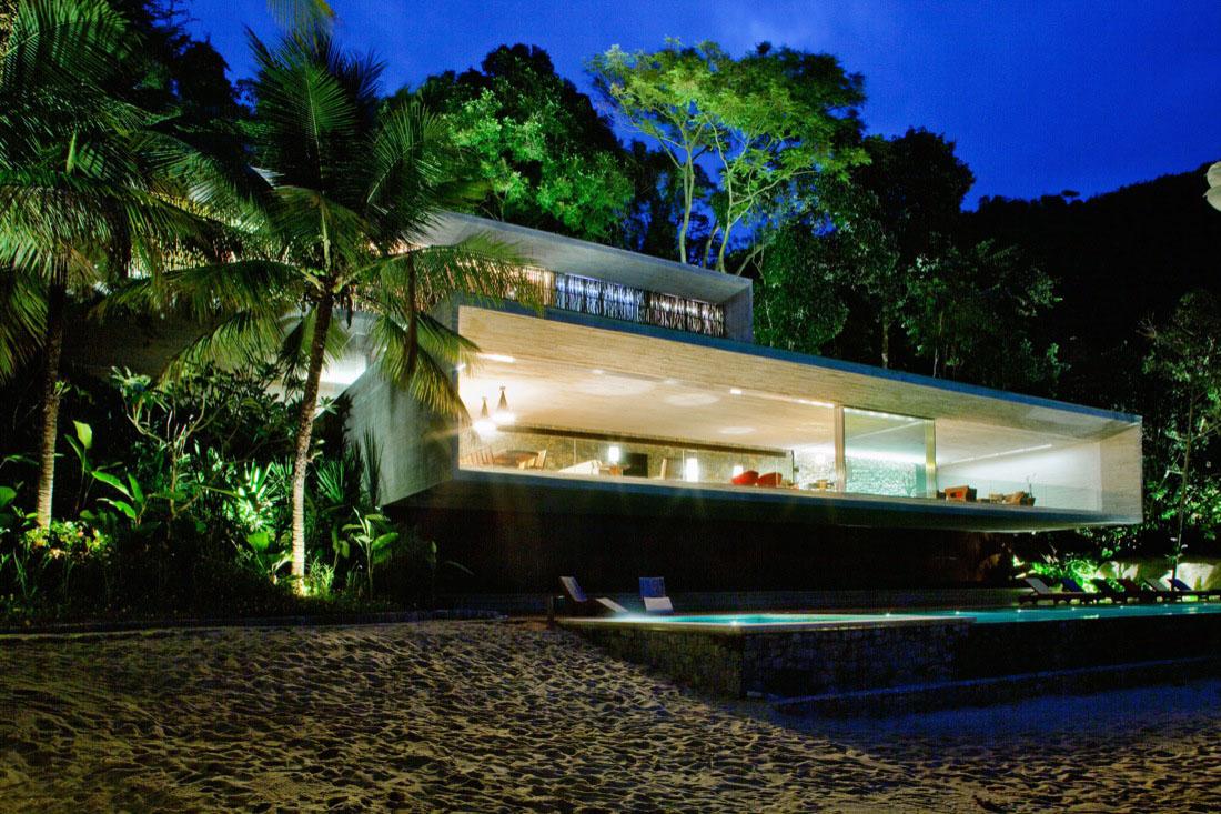 Modern Beach House On The Brazilian Coast | iDesignArch ... on Modern:szae7Exnfpq= Amazing Houses  id=54434