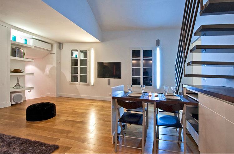 Modern Duplex Apartment Design In Paris Idesignarch