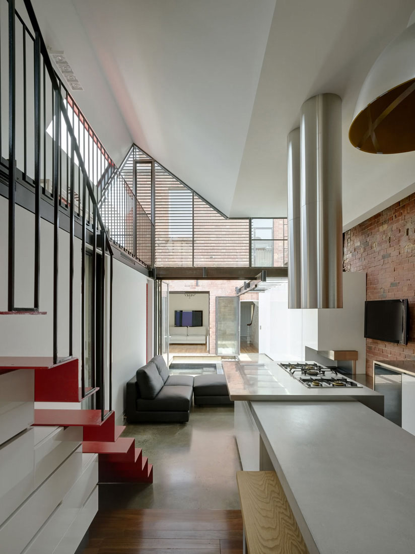 Extension To A Victorian Terrace In The Inner City