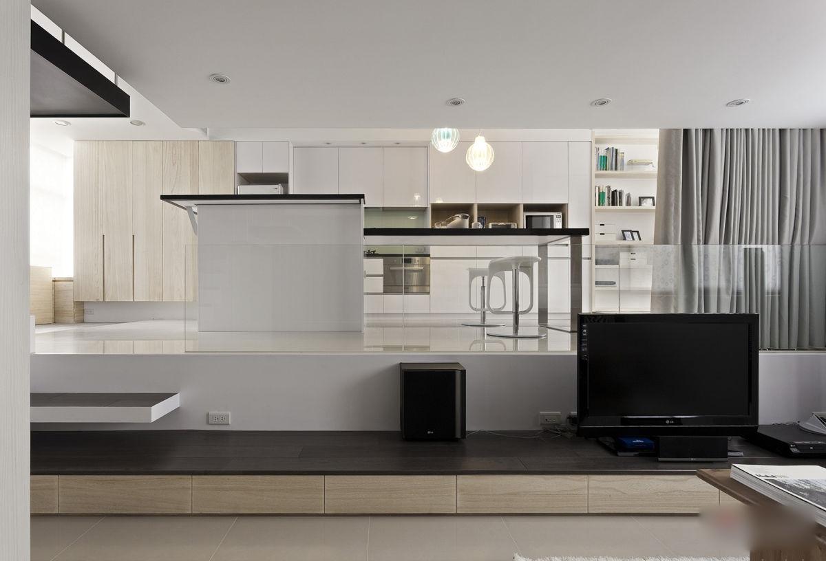 Modern Minimalist Interior Design Kitchen