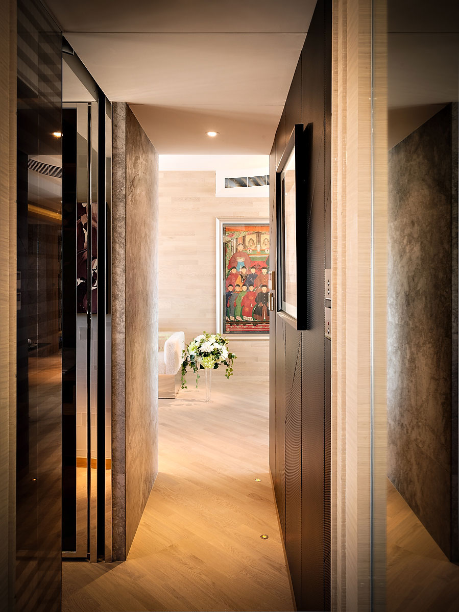 Small Luxury Flat In Hong Kong Idesignarch Interior