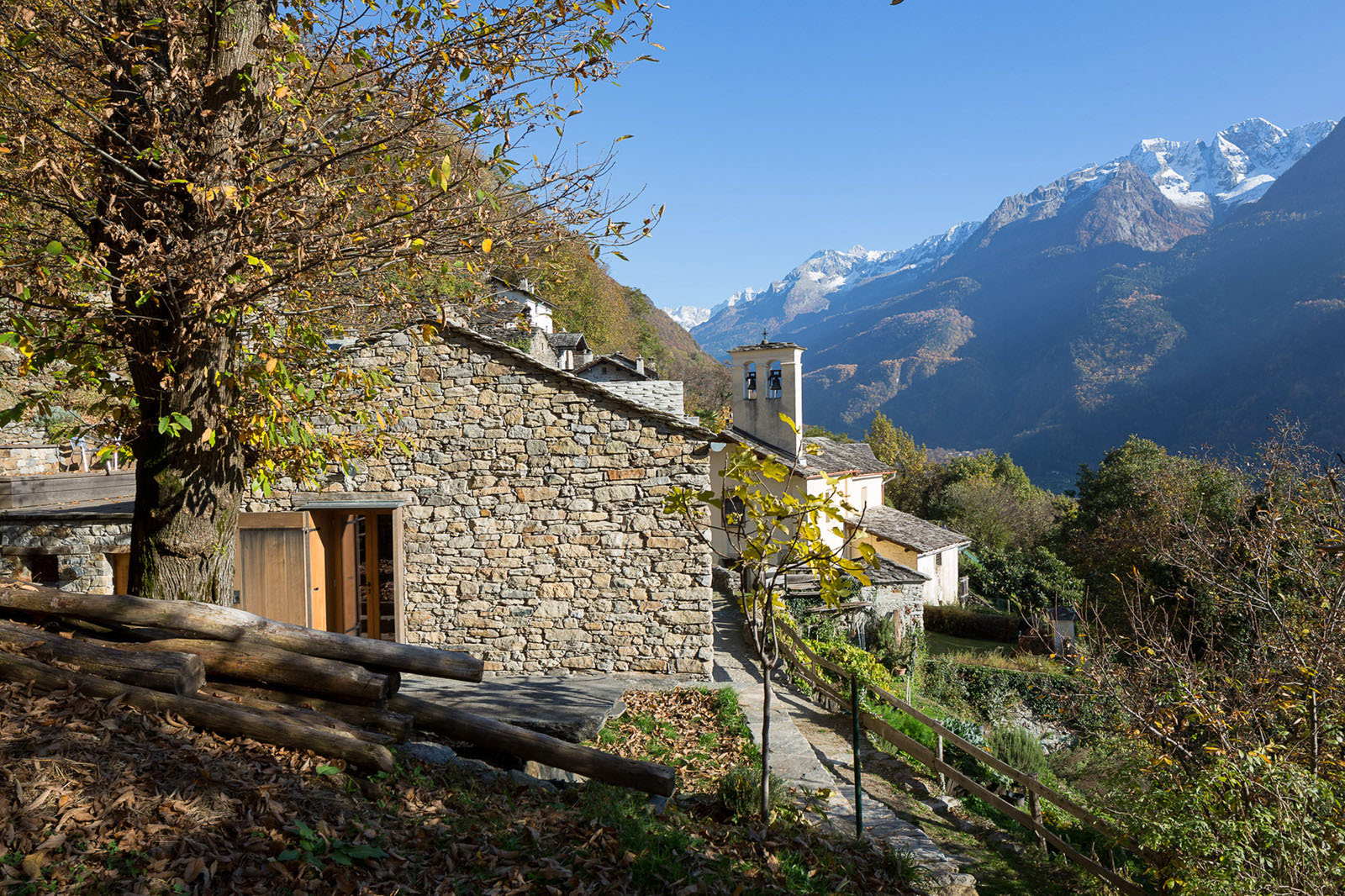 Restoration Of A 16th Century Mountain Village Stone House