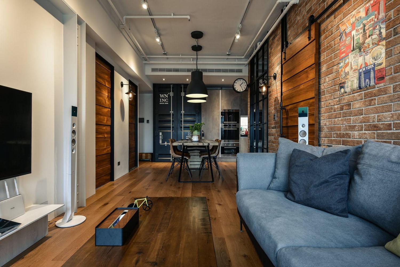 Charming Industrial Loft In New Taipei City IDesignArch Interior Design Architecture