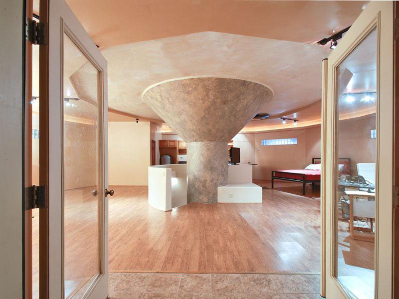 Nuclear Missile Silo Converted To Luxury Home