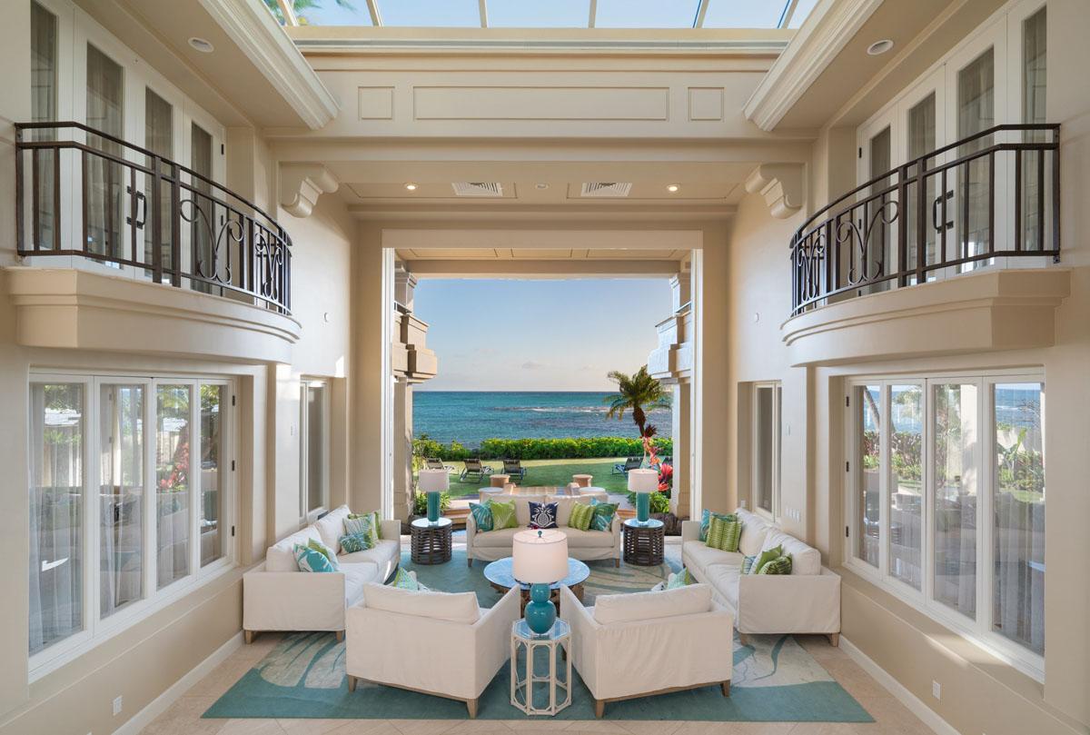 Best Kitchen Gallery: Oceanfront Luxury Home Diamond Head Honolulu Hawaii 1 Idesignarch of Interior Design Luxury Homes  on rachelxblog.com