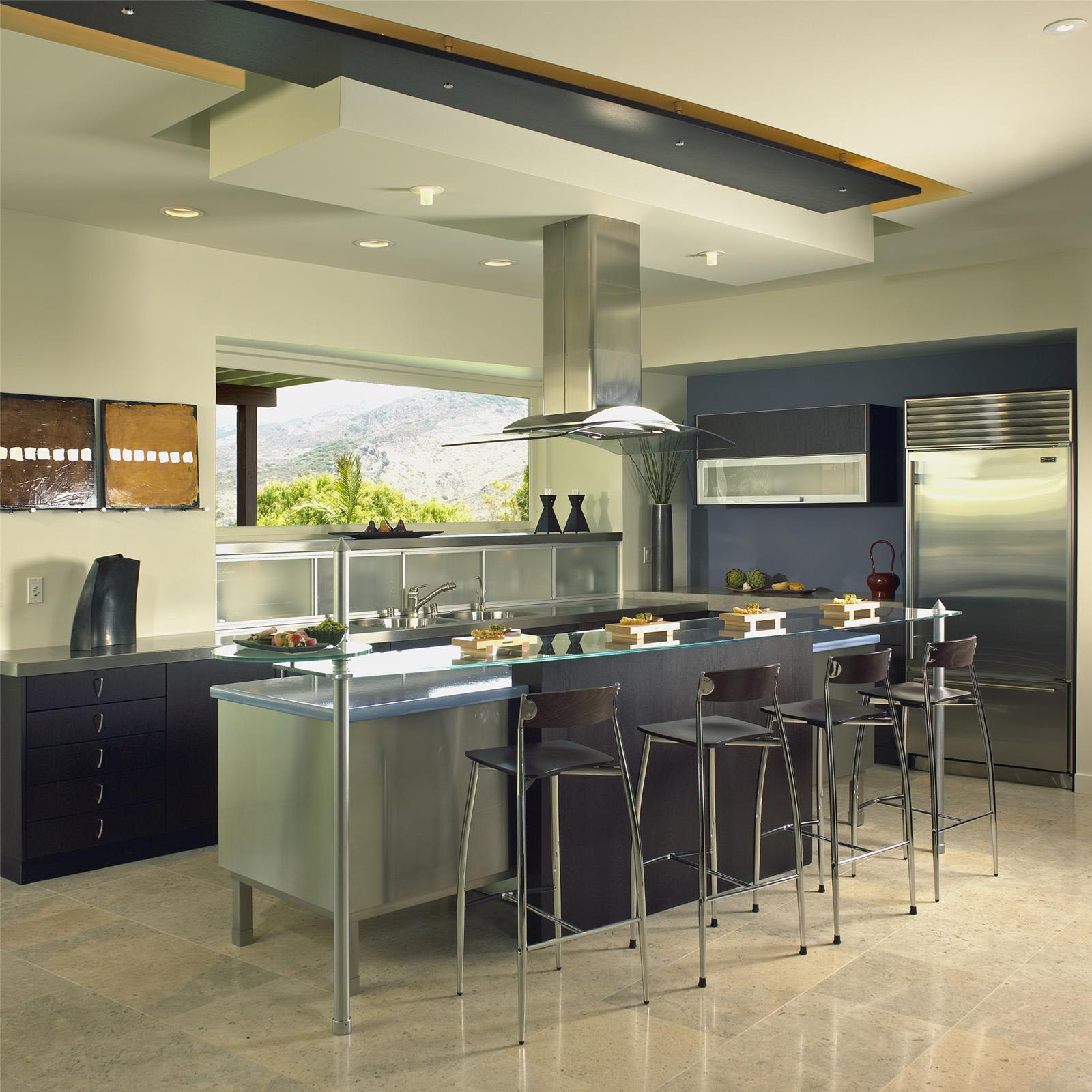 Open Contemporary Kitchen Design Ideas | iDesignArch ... on Modern Kitchen Design Ideas  id=18366