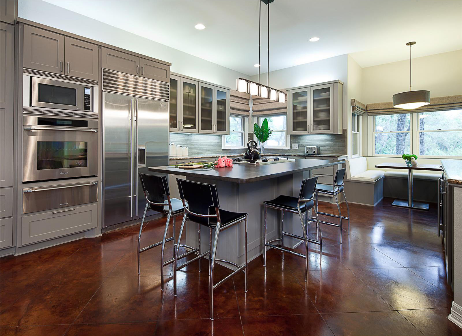 Open Contemporary Kitchen Design Ideas | iDesignArch ... on Modern Kitchen Design Ideas  id=33941