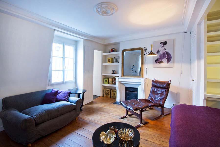 Paris Studio Apartment Merges Classic Contemporary With Minimalism IDesignArch Interior