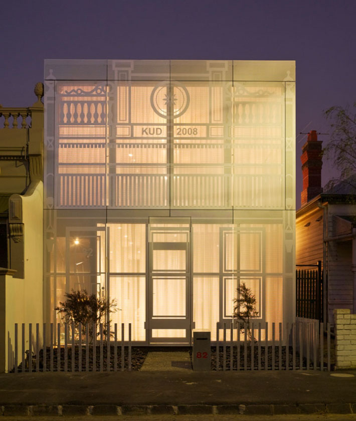 Contemporary Faade Romanticizes Victorian And Edwardian