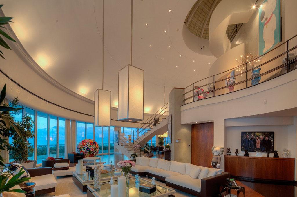 Inside Pharrell Williams Stunning Miami Waterfront Penthouse Idesignarch Interior Design