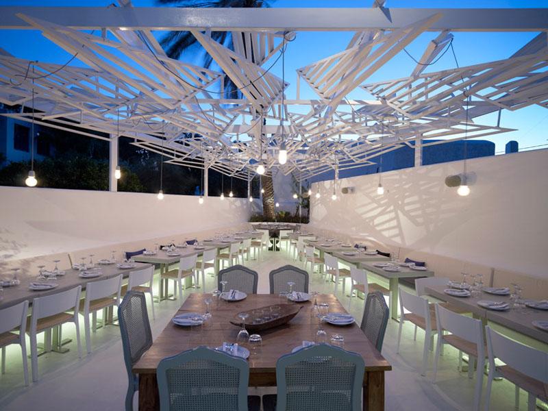 PHOS Restaurant A Dazzling Eatery In Mykonos IDesignArch Interior Design Architecture