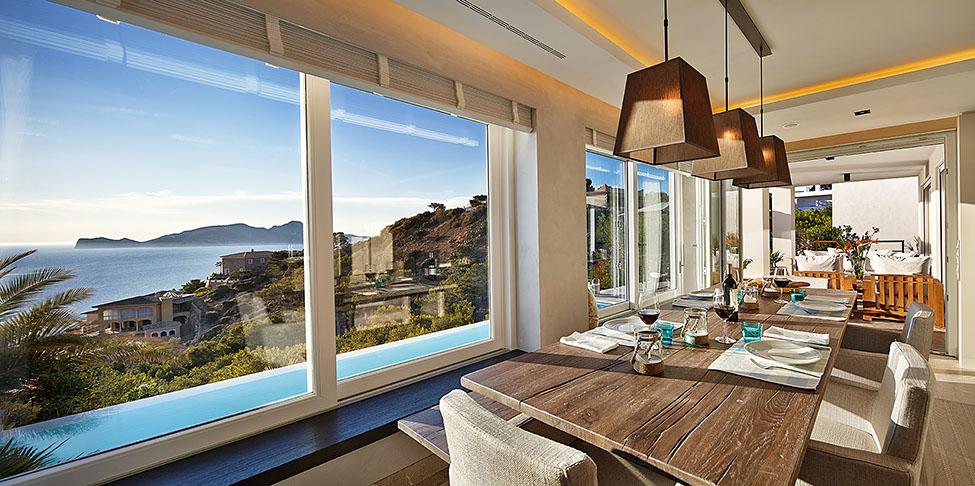 Ocean View Modern Villa In Mallorca IDesignArch
