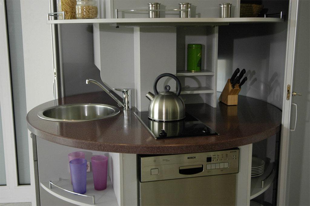 Small Kitchen Design Open Shelves