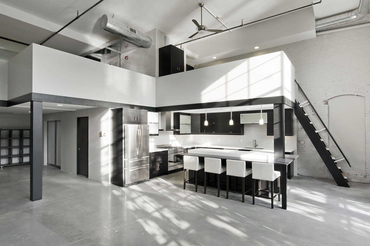 Minimalist Riverfront Loft In Pawtucket IDesignArch Interior Design Architecture Amp Interior