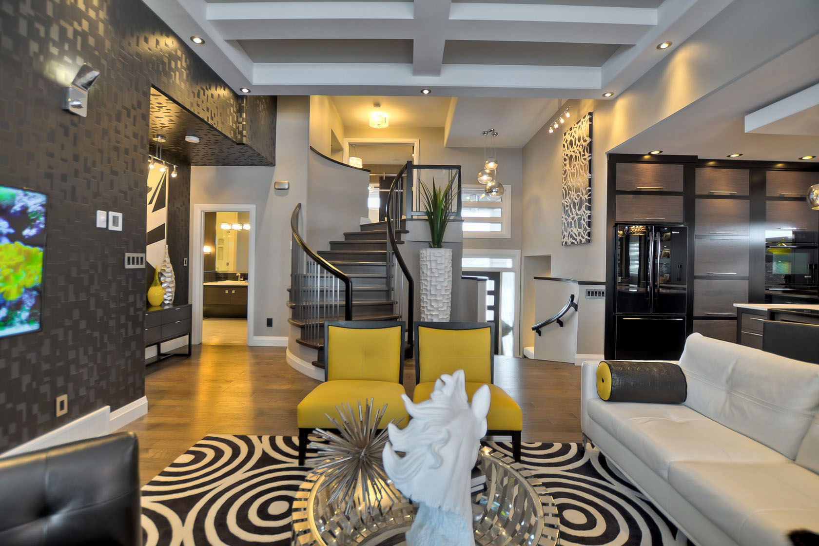 Contemporary Custom Dream Home In Saskatoon With Inspiring ... on Dream Home Interior  id=55695